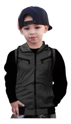 Blusa agasalho moletom infantil para criança diverse