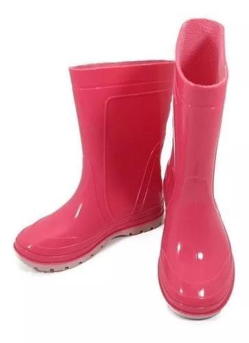 Bota galocha para criança infantil impermeável para chuva