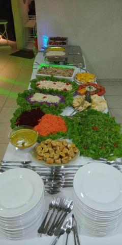 Churrasqueiro cozinheiras buffet