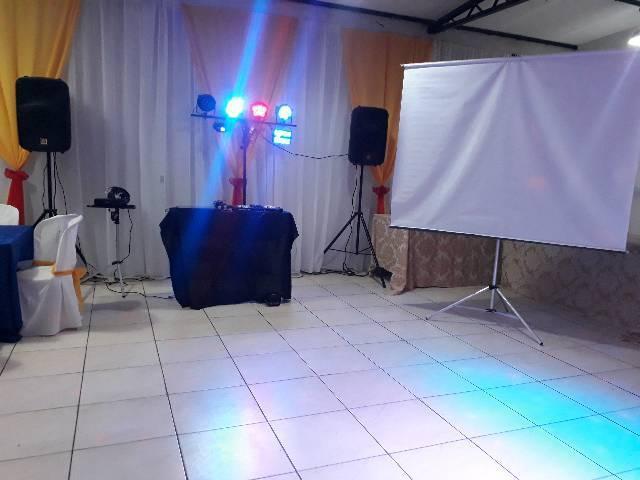 Dj manazes eventos som iluminação $250reais