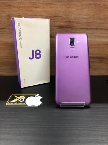 Galaxy j8 64gb violeta