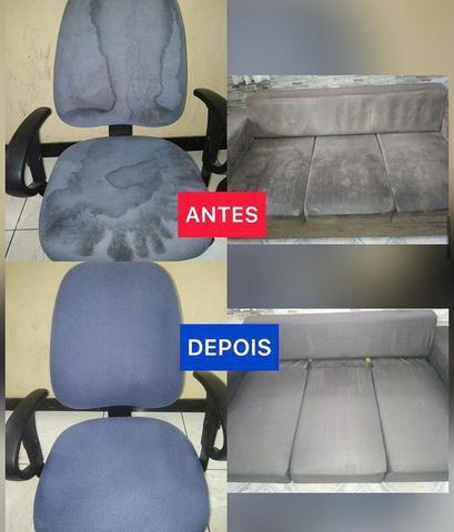 Higienização / limpeza de estofados