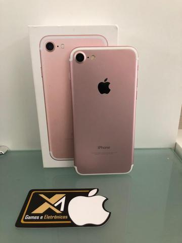 Iphone 7 128gb, vem de troca!
