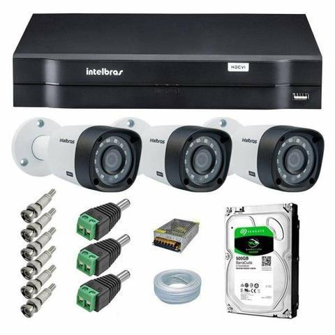 Instalação de equipamentos de vídeo monitoramento