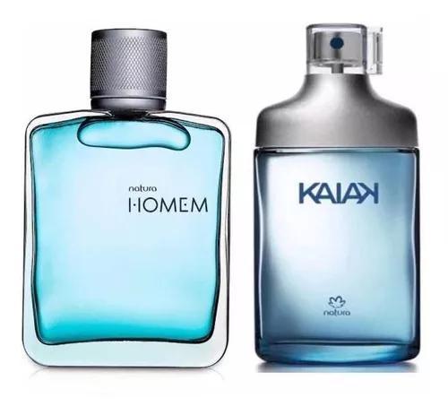 Kit fragrância natura kaiak tradicional + natura hom