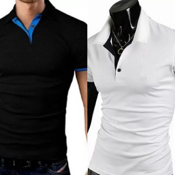Kit camisetas polo - 2 peças