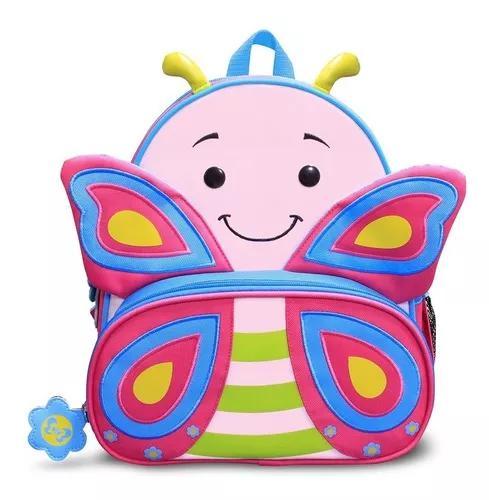 Mochila p crianca borboleta cindy volta as aulas e passeio