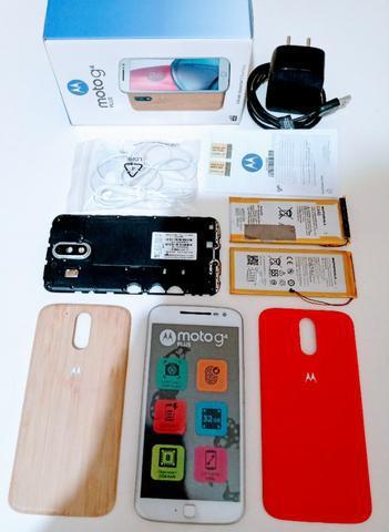 Motorola moto g4 plus bambu edição especial - peças!!!