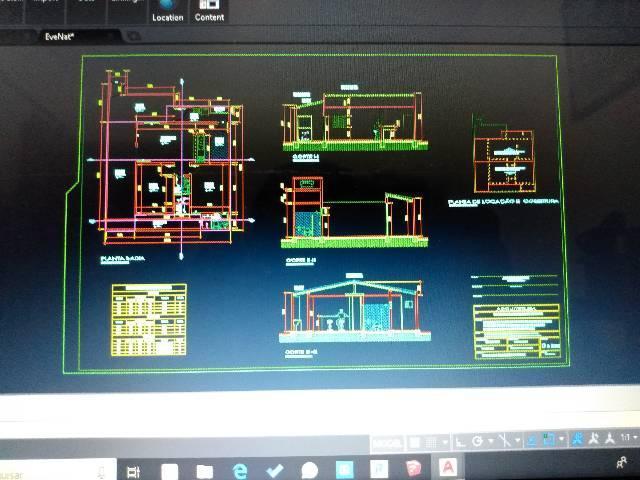 Projetos de construção civil em geral