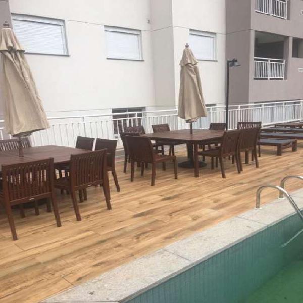 Pronto pra morar 2 dormitórios com varanda integrada e