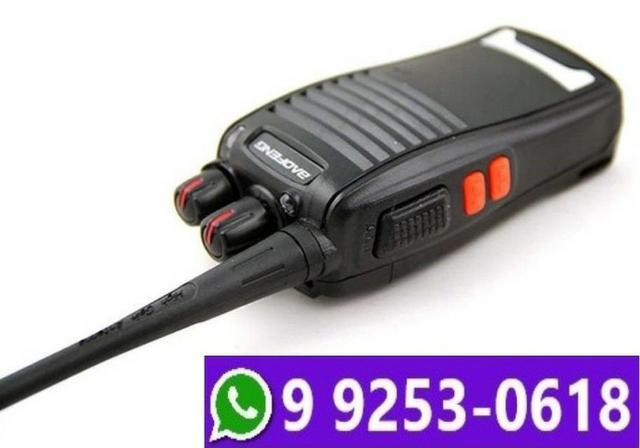 Radio comunicador walk talk baofeng 777s profissional