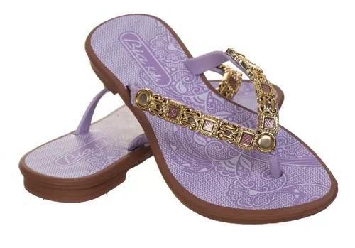 Rasteirinha infantil menina criança kids chinelo sandálias