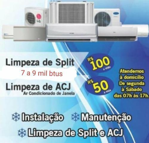 Refrigeração manutenção em ar condicionado split
