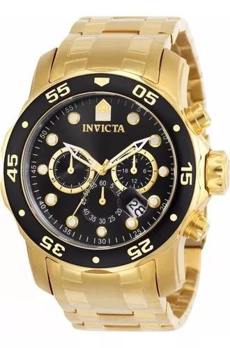 Relógio invicta pro diver scuba 0072 cronógrafo