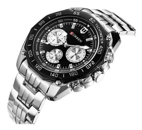 Relógio masculino curren militar esportivo luxo original