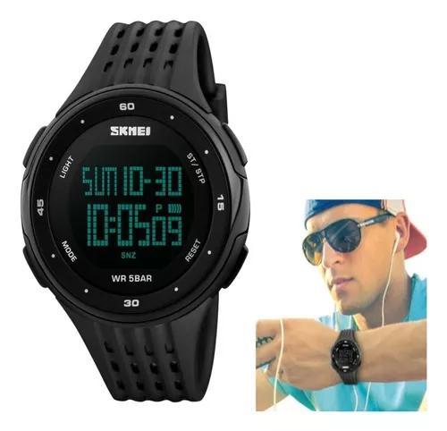 Relógio masculino skmei 1219 militar digital esportivo