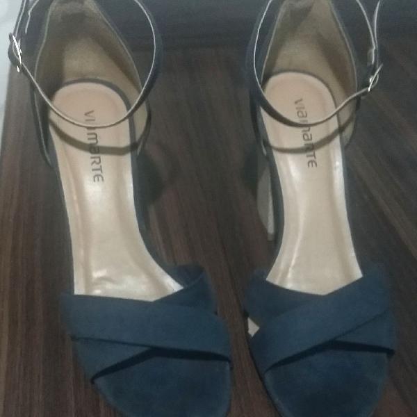 Sandália azul - via marte