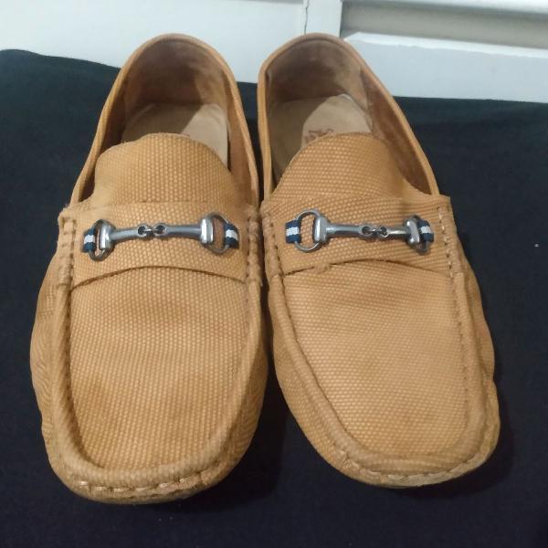 Sapatos sergio k leather gods mocassim tam 40 r$169