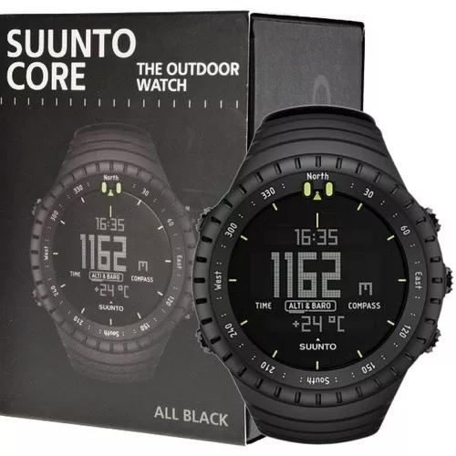 Suunto core all black militar relógio esportivo original