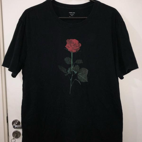 Camiseta osklen preta