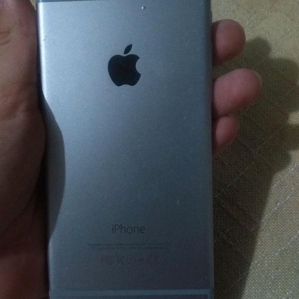 iPhone 6 prata, para retirada de peças