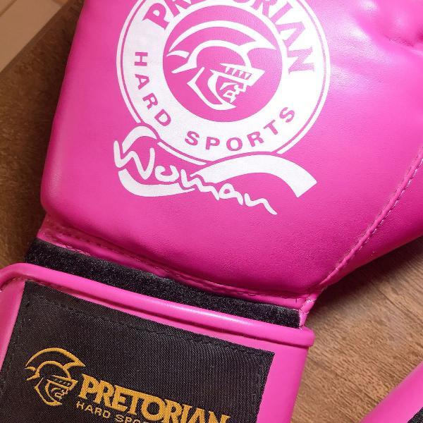 Luva de boxe rosa pretorian
