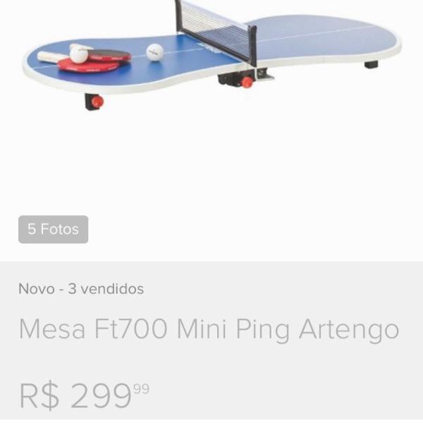 Mini mesa ping pong artengo