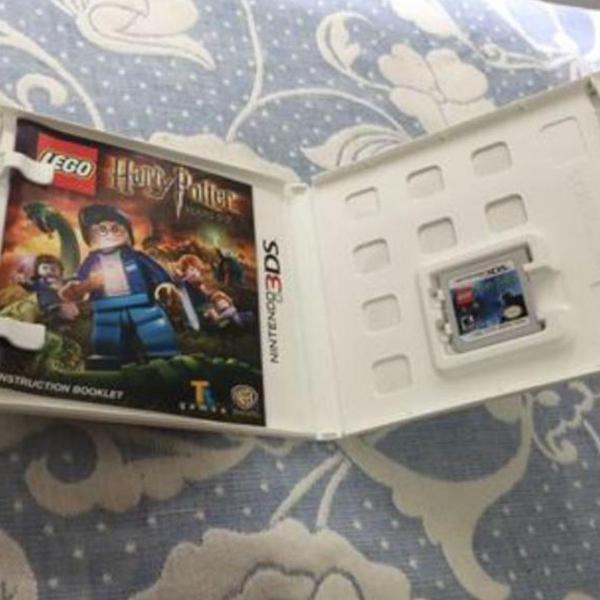 Nintendo 3ds xl com jogos super mário,call of duty e harry