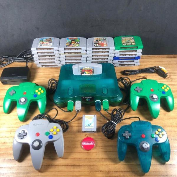 Nintendo 64 sabores original 20 jogos originais e 4