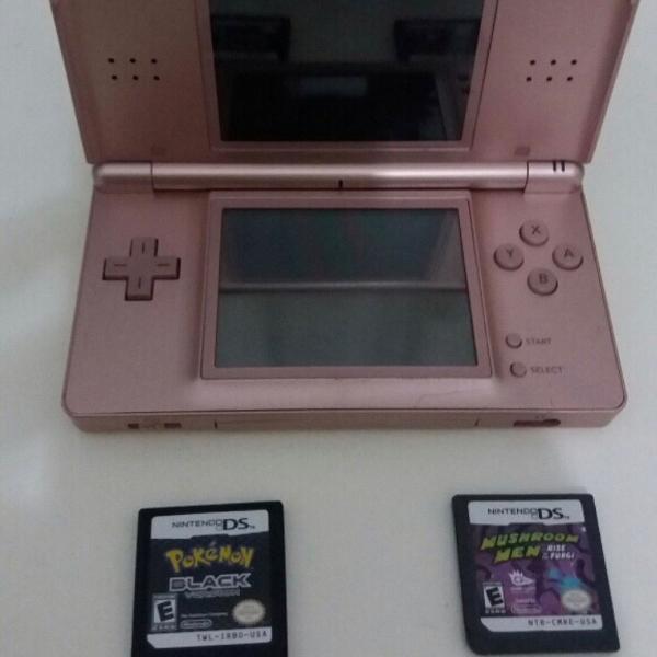 Nintendo ds lite rose edição limitada