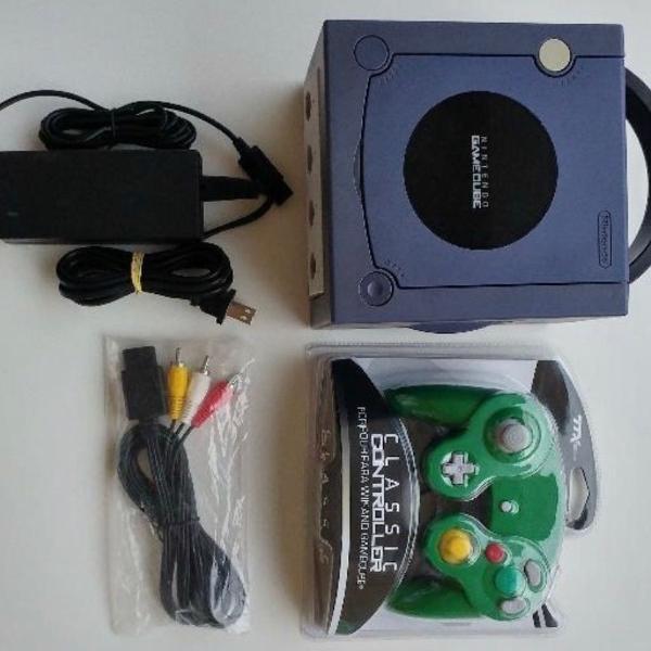 Nintendo gamecube azul + 1 controle