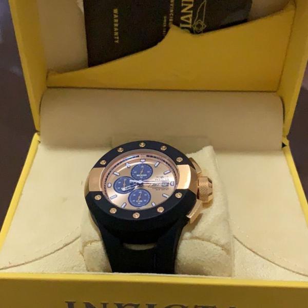Relógio invicta original com cartão de autenticidade na