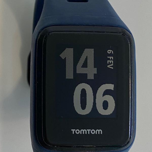 Relógio tomtom monitor de frequencia cardiaca com gps e