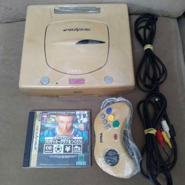 Sega saturn japonês completo