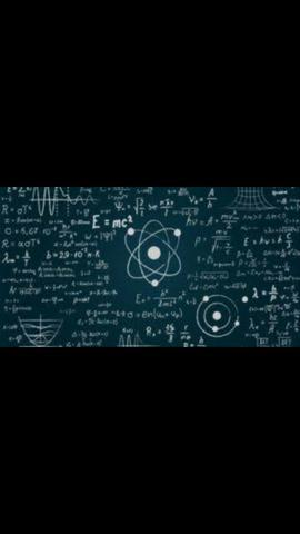 Aula física e matemática