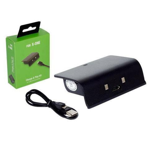 Bateria com cabo carregador p/ xbox one