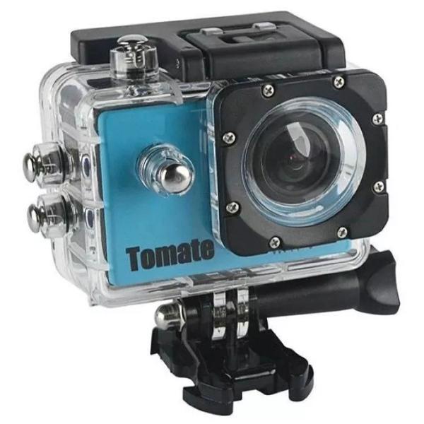 Câmera filmadora 4k wi-fi a prova d'água tomate mt-1090k