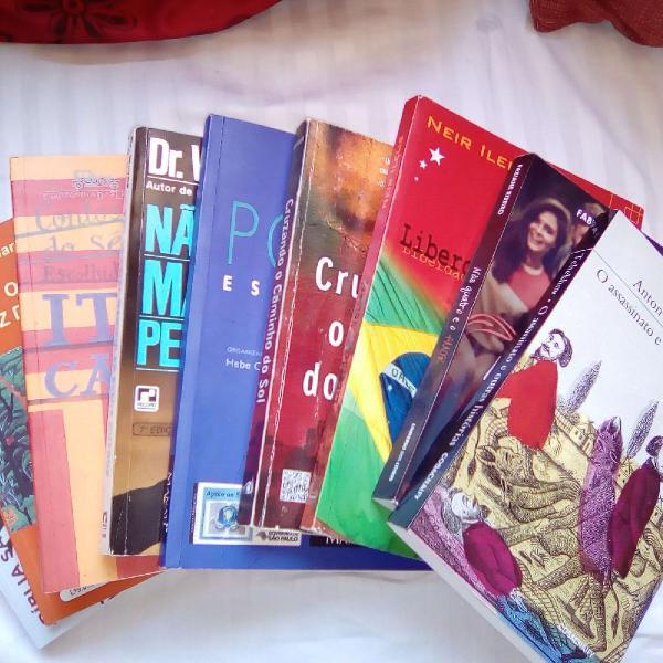 Combo 9 livros
