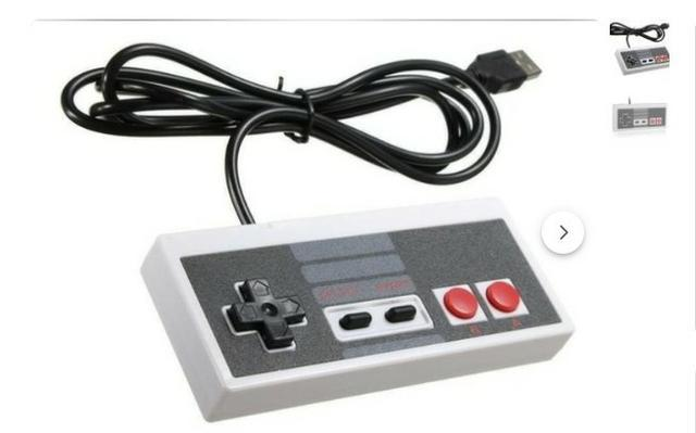 Controle play game nes usb