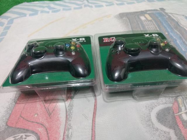 Controle x box clássico arcade primeira geração