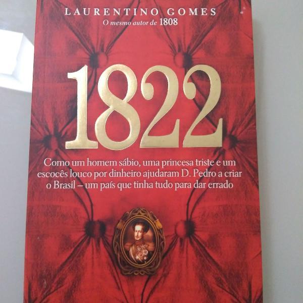 Livro 1822 autor laurentino gomes livro muito bem conservado
