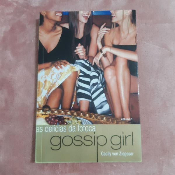 Livro gossip girl - volume 1
