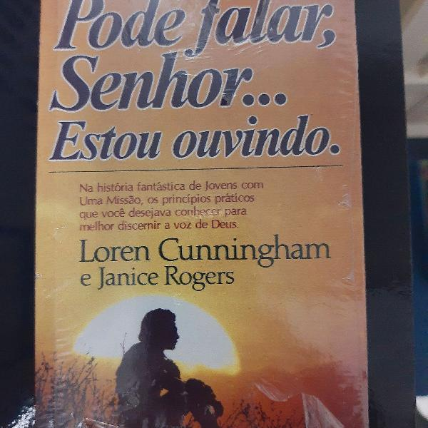 Livro pode falar senhor estou ouvindo - loren cunningham e