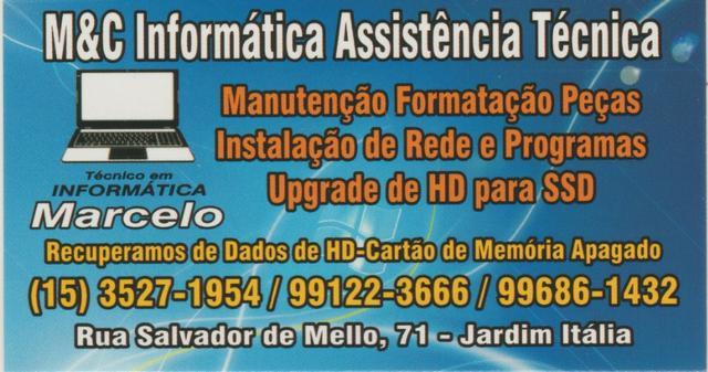 M&c informática assistência técnica
