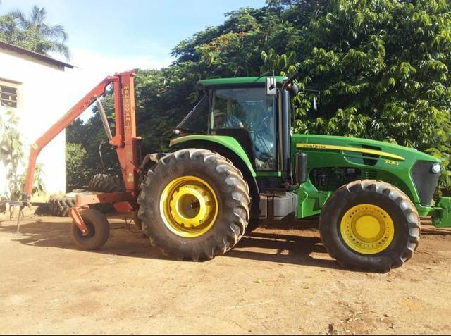Maquina agrícola john deere 7225