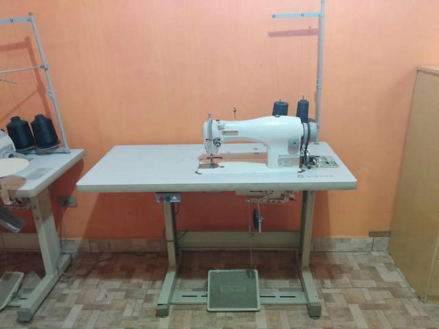 Máquinas de costura industriais (confecção completa)