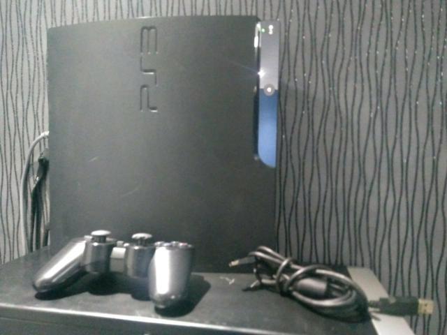 Ps3 playstation 3 com mais de 500 jogos
