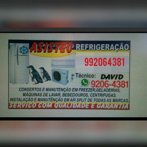 Serviços de consertos a domicílio. asistec refrigeração