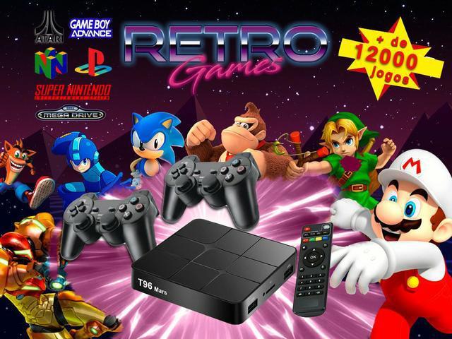Super game box retro 12 mil jogos