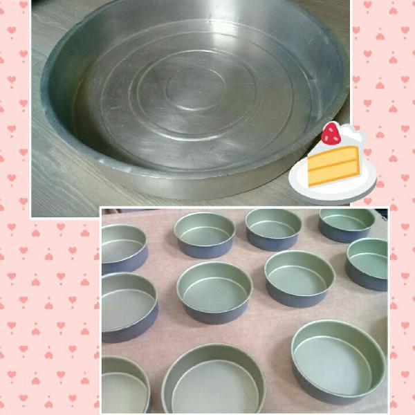 Super kit 13 formas para bolo e tortinhas